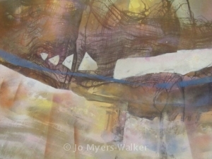 Morning Has Broken, watercolor painting by Jo Myers-Walker