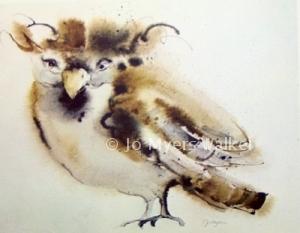 Bob watercolor print by Jo Myers-Walker