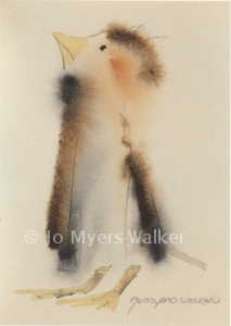 Robert watercolor print by Jo Myers-Walker