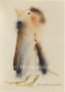 Robert watercolor print by Jo Myers-Walker
