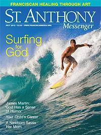 Cover of St. Anthony Messenger, July 2012