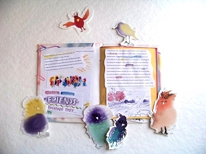 Birds with journal
