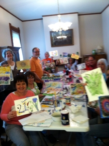 Emmaus House workshop group