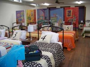 The Nest retreat center, upstairs from Hen & Chicks Studio