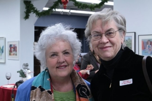 Jo Myers-Walker and Louise O'Donnell