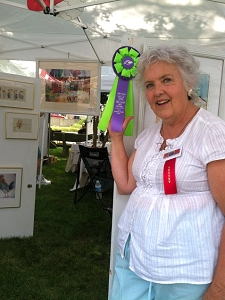 Jo Myers-Walker at the 2014 Linn Creek Arts Festival