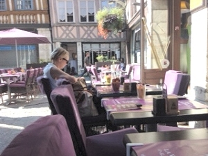 Cafe in Rouen