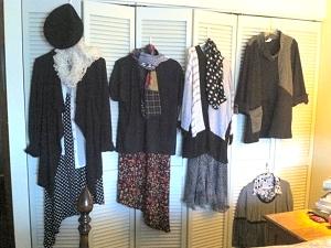 Jo's travel wardrobe