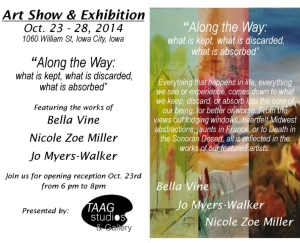 Invitation to Along the Way exhibit