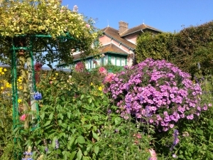 House formerly owned by Claude Monet in Giverny