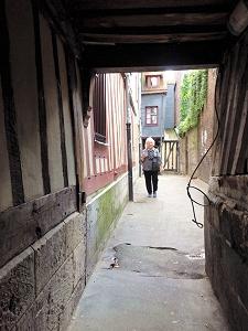 Rue des Chanoines, Rouen
