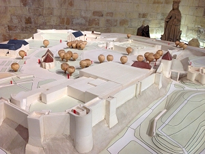 Model of Caen Castle