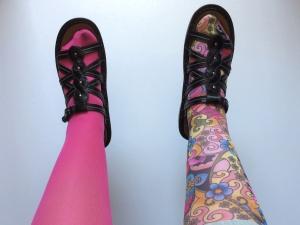 Jo's new stockings