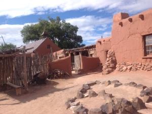 El Rancho de las Golondrinas living history museum near Santa Fe, NM