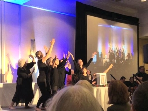 Liturgical dancers at a service during the 2016 Call to Action Conference