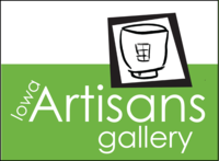 Logo of Iowa Artisans Gallery in Iowa City, Iowa