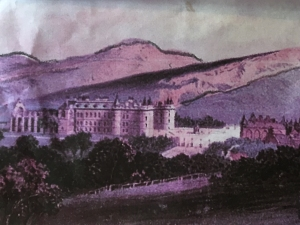 Image of Holyroodhouse in Edinburgh