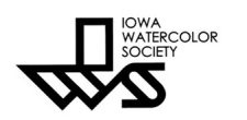 Logo of the Iowa Watercolor Society